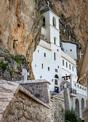 Ostrog monastery (Leaning Ladder) Tags: podgorica montenegro balkans ostrog monastery church mountain architecture leaningladder