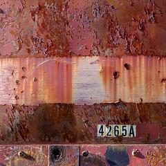 (jtr27) Tags: dscf9399xl jtr27 fuji fujifilm xt20 xtrans xf 50mm f2 f20 rwr wr abstract rust oxidation peelingpaint freightcar train patina