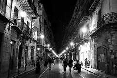 Nightlife (Franco-Iannello) Tags: blackwhite people street travel