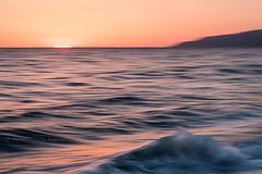 (RaffaLUCE) Tags: motionabstract abstractart abstractphotography femalephotographer sunset ocean sea waves