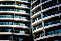 Bezier (Sean Batten) Tags: london england unitedkingdom gb europe oldstreet architecture building lines curves bezier city urban nikon d800 58mm balcony apartment residential