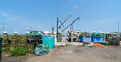 Scenes at the Guilford Dock (Bob Gundersen) Tags: bobgundersen nikon gundersen nikond600 robertgundersen d600 guilford connecticut ct country usa connecticutscenes coast water waterfront towndock newengland blue building buoy lobster lobsterlanding orange grey interesting image photo picture places port scenes shots shoreline buoyant whitfieldstreet nikoncamera catchycolors flickr architecture conn lobsterpot lobstertrap trap wharf exterior outside marina scene shore