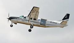 G-SYLV (goweravig) Tags: gsylv swanseaairport skydiveswansea swansea wales uk cessna grand caravan