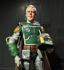 Custom Jeremy Bulloch The original Boba Fett. (chevy2who) Tags: bulloch jeremy figure action toyphotography toy series black custom starwars fett boba wars star