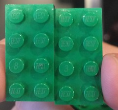 LEGO Test Bricks for Sustainability