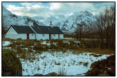 Blackrock Cottage (Dom Haughton) Tags: blackrock blackrockcottage cottage scotland scottishhighlands highland highlands glencoe glenetive glen snow snowymountains buachailleetivemor buachaulle etive canoneos70d canon caledonia westhighlandway