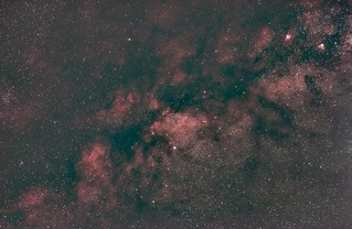 Milky Way 50mm Wide Field NGC6738 At Center