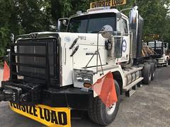 Bigge (kerstdejong) Tags: bigge truck trailer heavy oversize goldhofer western star prime mover