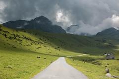 Pyrénées (Nicolas Rouffiac) Tags: route road montagne mountain pyrénées pyrenees orage thunderstorm paysage landscape
