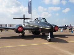 G-JWMA/WA638. (aitch tee) Tags: royalinternationalairtattoo historicaircraft gjwma ejectionseattestaircraft t7 glostermeteor martinbaker wa638 riat2018 july2018 raffairford