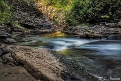 180625-20 Rivière Saint-Charles (clamato39) Tags: rivièrestcharles river rivière eau water poselongue longexposure provincedequébec québec canada nature canyon