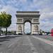 El Arco del Triunfo, París, Francia