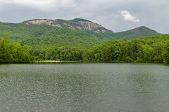 The Boat House (rschnaible) Tags: table rock state park south carolina the outdoor landscape lake water pinnacle mountain forest woods cloudy day