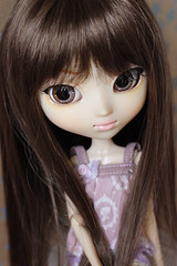 Rescue girl (HoshiBerry ★) Tags: pullip groove clarity doll portrait jun planning cameo purple brown hair