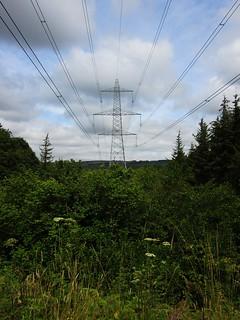 Power Line, Derwent Walk, County Durham