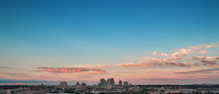The Sky of Skyrborough (Alberto Donzelli) Tags: city skyline sunset builings scarborough scrabto