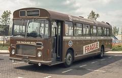 Eastern Counties RL735 (AAH735J) Peterborough June 1984 (BristolRE2007) Tags: easterncounties ecw easterncoachworks bus nbc nationalbuscompany bristolre