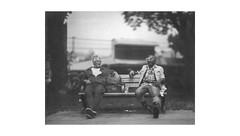 (WOGO*) Tags: graflex super d 178mm polaroid 665 instantfilm bw expired film bokeh oppenheimer park dtes getto pigeonpark expiredfilm analog