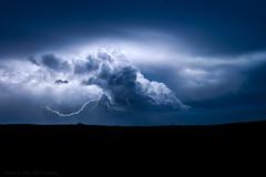 Distant Prairie Storm (mesocyclone70) Tags: lightning storm thunderstorm night longexposure greatplains gewitter nightphotography nature