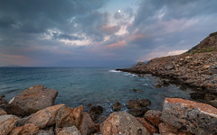 Vathy - Crete (Wim Boon (wimzilver)) Tags: kreta crete wimboon sunset greece leefilternd09softgrad leelandscapepolariser canoneos5dmarkiii canonef1635mmf4lisusm