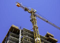 Raising the crane 3 (Tony Tomlin) Tags: whiterockbc britishcolumbia canada southsurrey construction cranes