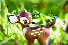 Bambi (Vanessa wuz Here) Tags: 90mm macro 7dwf fauna toys bambi everyimagetellsastory tabletopphotostudio vanessasbackyard copyrightvanessabartosek