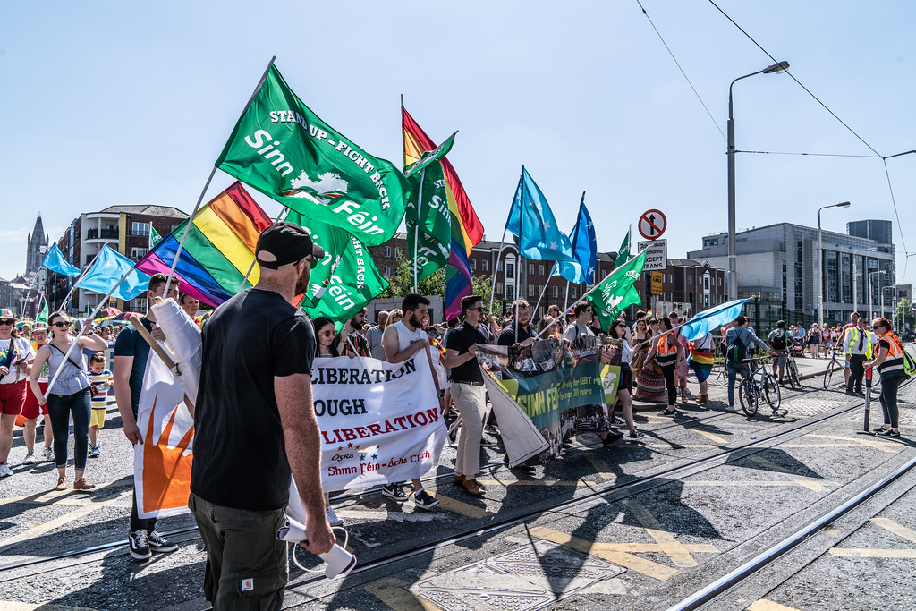ABOUT SIXTY THOUSAND TOOK PART IN THE DUBLIN LGBTI+ PARADE TODAY[ SATURDAY 30 JUNE 2018] X-100088