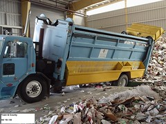 Waste Connections Erie, CO (Scott (tm242)) Tags: recycle recycling disposal garbage trash refuse rubbish debris waste removal haul collect collection asl fl rl msl side front rear load loader hopper dumpster bin packer truck trucks