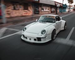 Yuki (IAmChrisRedd) Tags: porsche 911 993 widebody stance stancenation stancemiami automotivephotography miami rwb fifteenfiftytwo