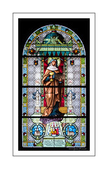 Stained Glass Window - Tyska Kyrkan (Old German Church) (GAPHIKER) Tags: tyska kyrkan tyskakyrkan oldgermanchurch old german church stgertrudeschurch stgertrude gamlastan stockholm sweden stained glass window schumburg