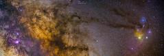 Deep sky Pano (Rémi FERRIERI) Tags: 135mm sony a7 astrophoto astronomie astronomy staradventurer stars étoiles sky ciel night nuit nightfoto nightphoto tracking suivi antares rho ophiuchi astrometrydotnet:id=nova2651054 astrometrydotnet:status=solved