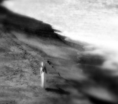 Emptiness (coollessons2004) Tags: woman vintage surreal surf beach sea ocean