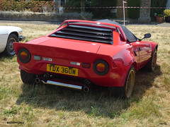 Stratos (BenGPhotos) Tags: 2018 matching green classic sports car club show red italian v6 lancia stratos tdx360w