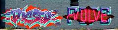 graffiti in Amsterdam (wojofoto) Tags: amsterdam nederland netherland holland ndsm graffiti streetart wojofoto wolfgangjosten evolve