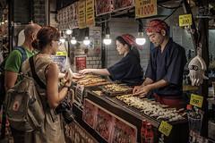 Kyoto market (bridgendboy2012) Tags: kyoto market stall tourists commerce ja japan street photography