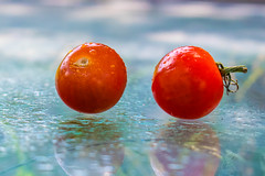 Floating Summer Fruit (nafenic) Tags: nikon d5300 1855mm afp kitlens stilllife fruit floating tomato lightroom