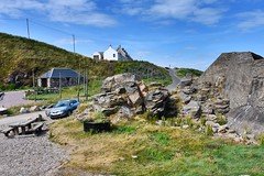 Cove Bay - Aberdeen Scotland - 13th July 2018 (DanoAberdeen) Tags: cove aberdeenharbour danoaberdeen aberdeenshire aberdeen scotland bay harbour covebay hiddenscotland fishing fishermen trawlers lobster creels shellfish candid amateur 2018 scottishhighlands altens tullos shingle beach playa plage northsea fishmeal historicscotland heritage history geotagged causeymounth scottish foreshore vintage scenery landscape tranquil peaceful walks bonnyscotland bonnie scotch blue sky travel tourists whitefish hotel thecove hills granite grampian nikond750 autumn summer winter spring countryside gold scottishwater wilderness outdoors conservation preservation climbing hiking clifftop visitscotland