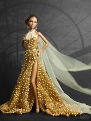 Golden Phoenix (davidbocci.es/refugiorosa) Tags: golden phoenix barbie mattel fashion doll muñeca refugio rosa david bocci ooak convention gold