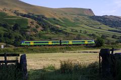 Central Trains Turbostar (Steel Rails) Tags: edale derbyshire hope valley railway line peak district train 2003