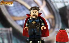 Custom LEGO Avengers: Infinity War | Doctor Strange (LegoMatic9) Tags: custom lego avengers infinity war doctor strange minifigure marvel