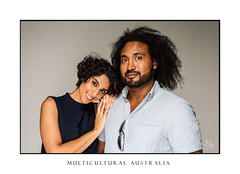 Beautiful diverse culture mixed race couple (sugarbellaleah) Tags: thisisaustralia friendship relationship diversity multicultural partnership couple businesspartnership female male heterosexual smiling man woman togetherness touch love respect mixedrace ethnic middleeastern black afro curly hair fun fabulous confident laughter cheerful realpeople authentic genuine strong emotion businesspeople smallbusiness fashion style trend leaning hug loving beautiful attractive handsome natural comfortable