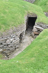 Doorway (PLawston) Tags: uk britain scotland orkney mainland skara brae neolithic village doorway house