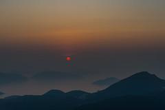 Here Comes the Sun (Lambert Chan's Photo Gallery) Tags: sunrise sun dramatic sky moodysky kowloonpeak