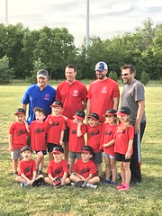 "Paul's First T-Ball Team • <a style=""font-size:0.8em;"" href=""http://www.flickr.com/photos/109120354@N07/43501133722/"" target=""_blank"">View on Flickr</a>"