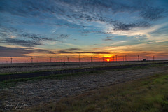 That Last Texas Sunrise (rebeccalatsonphotography) Tags: tx texas westtexas amarillo windturbines windfarm sunrise sky clouds landscape scenery morning colorful canon 5dmkiii rebeccalatsonphotography summer july canonef24105mmf4lisusm