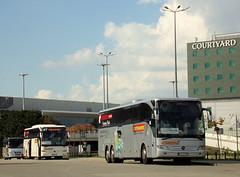 "Mercedes-Benz Tourismo 17RHD, #46, ""Żak Tourist"", Augustów (transport131) Tags: bus autobus mercedesbenz tourismo 17rhd żak tourist augustów"