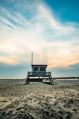 Lifeguard Station 1 (mbinebrink) Tags: assateague virginia nikon d750 tamron lifeguardstation beach sand sunset