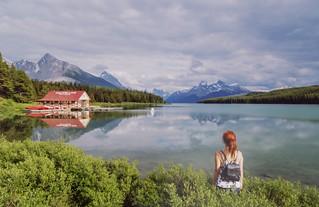 Maligne lake Jasper