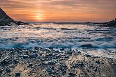 Algorri (jdelrivero) Tags: mar geologia sunset costa olas zumaia guipuzkoa atardecer elementos playa geology beach elements puestadesol sea agua rocas