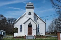 Warren Historical Site, Church (adamkmyers) Tags: warrenhistoricsite negroschool montgomerycounty africanamericanhistory blackhistory historicbuilding historicpreservation